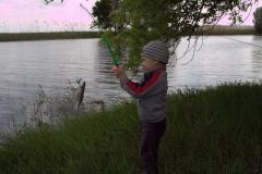 Наш главный рыбачок