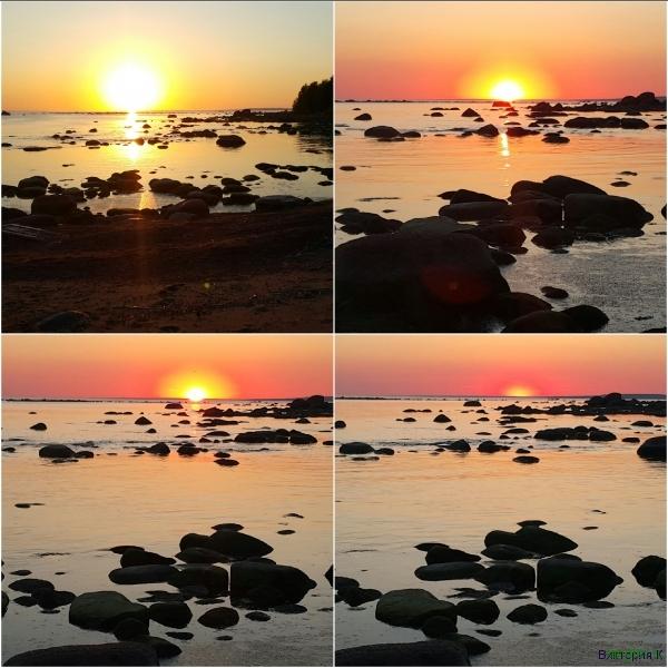 Закат на Финском заливе