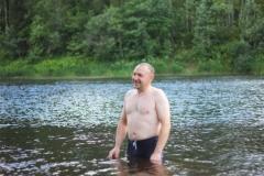 Купаемся в холодной воде