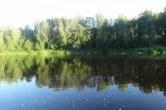Плёс на реке Оять