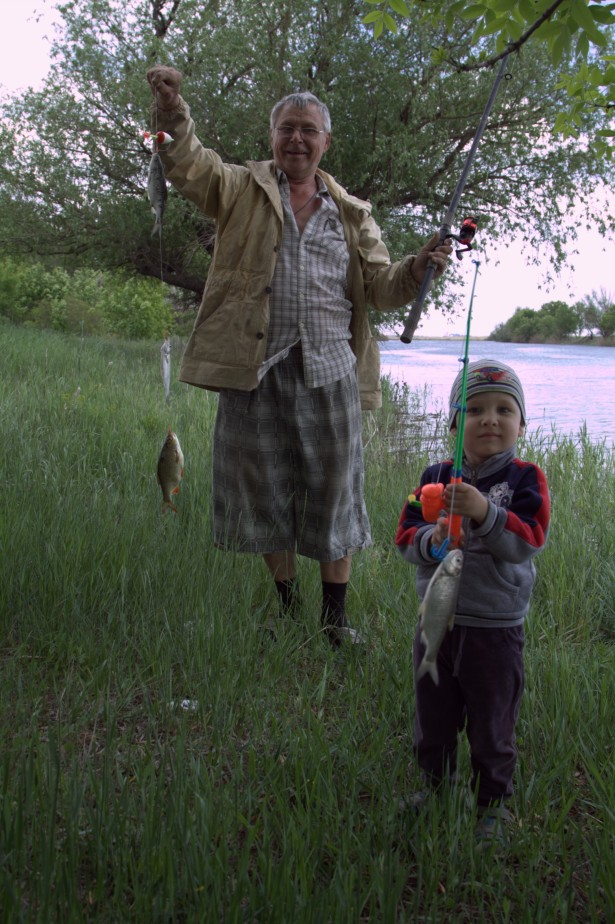Максик с дедушкой