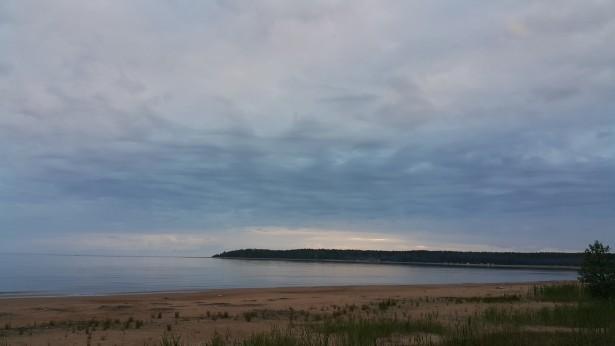 Финский залив бухта Жёлтая