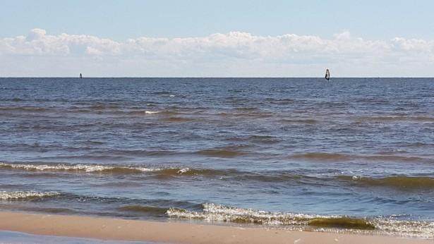 Парусники в Жёлтой бухте на Финском заливе