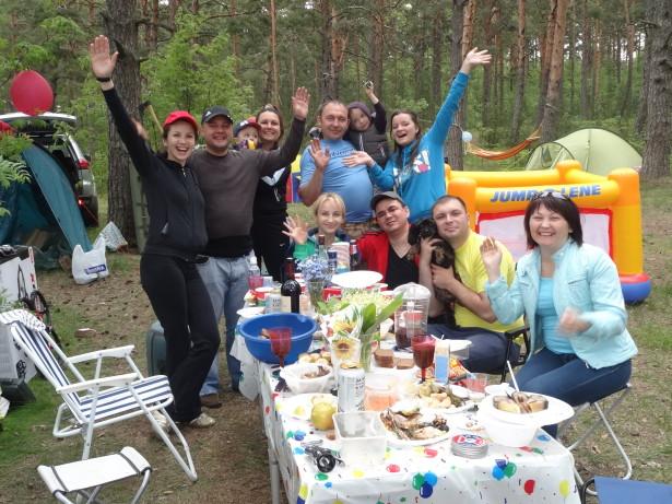 День рождения на Финском заливе
