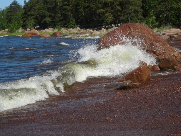 Ветер в заливе