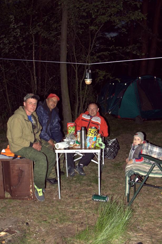 Лагерь на рыбалке