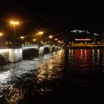 Подсветка Сампсоньевского моста