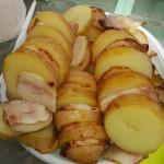 картошка с салом 1