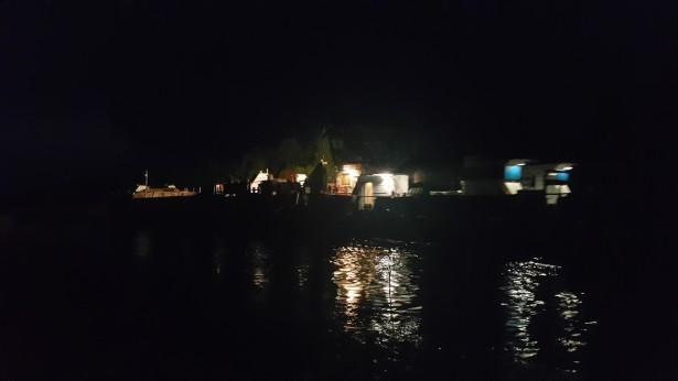 Баржа в Новоладожском канале