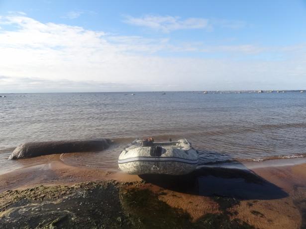 Лодка Финский залив