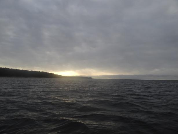 Осень Финский залив