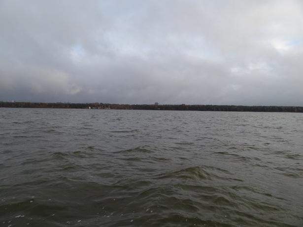Волны на Финском заливе