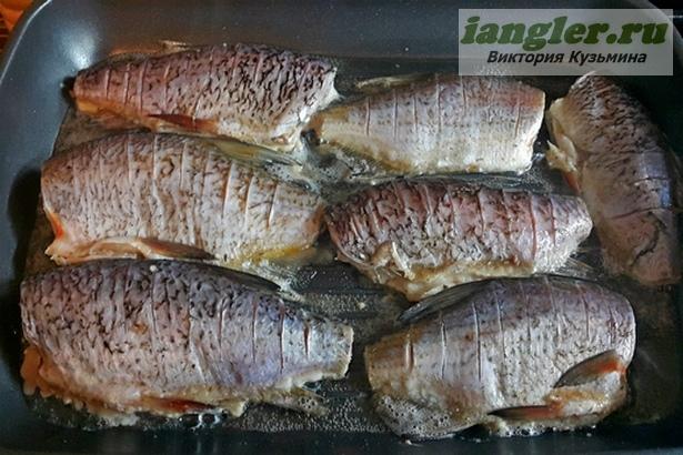 Рыба жареная
