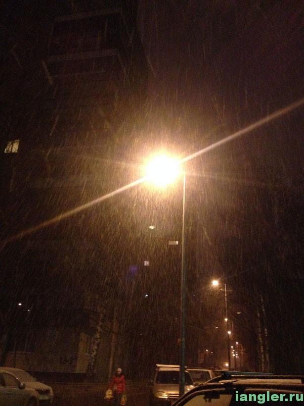 Идёт снег