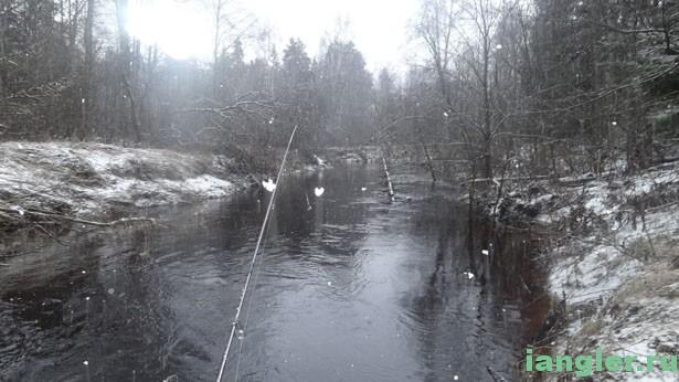 Удочка и река