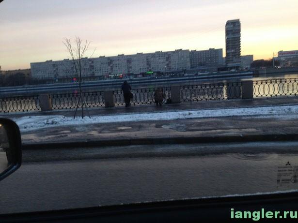 Рыбаки на Неве