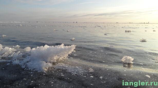 Лёд на Ладоге