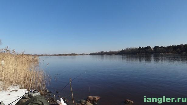Новая Ладога река Волхов