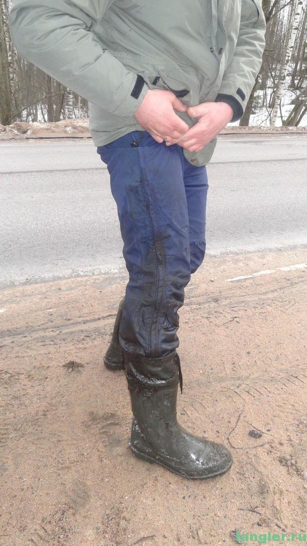 грязная нога
