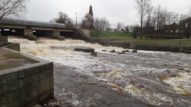 Водосливной канал в Сестрорецке