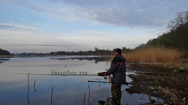 Рыбалка на реке Волхов