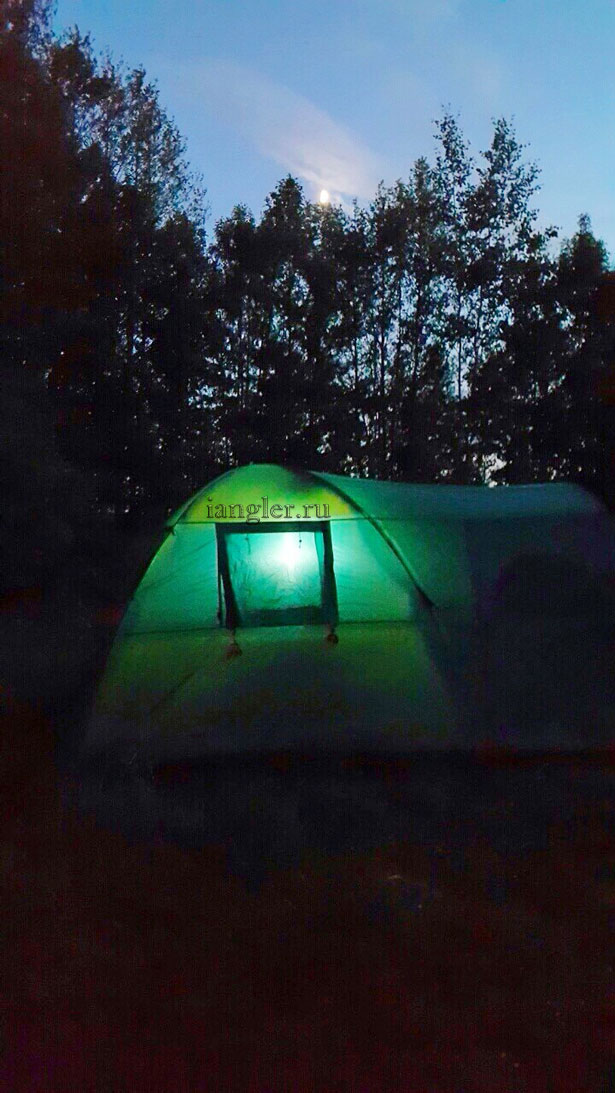 Ночлег в палатке