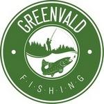 Логотип GREENVALD Fishing