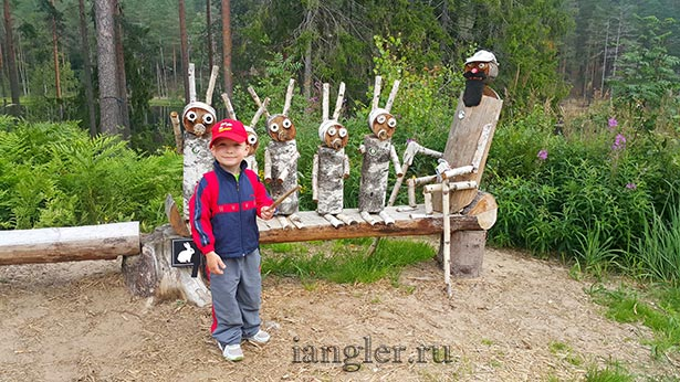зайчики в GREENVALD парке