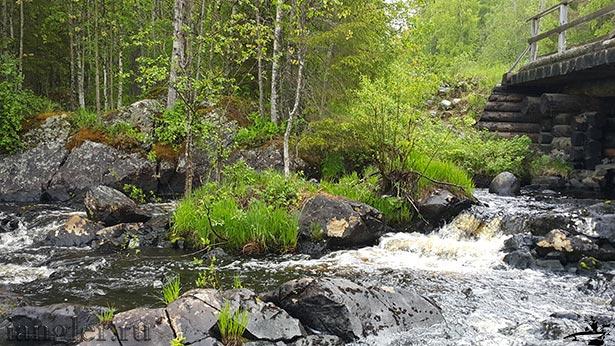 Водопад Гормозерка
