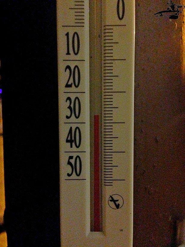 температура воздуха -27